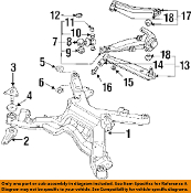 MITSUBISHI OEM 91-99 3000GT Rear-Lower Control Arm MB698982
